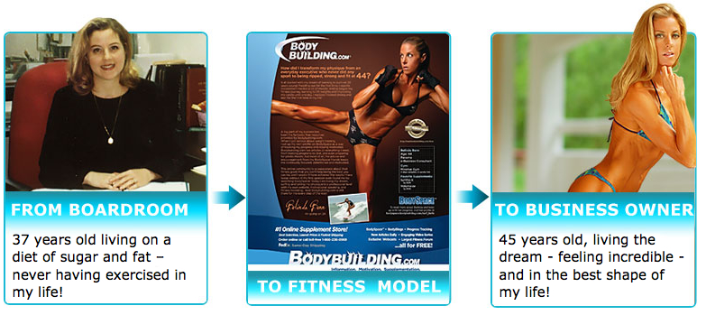 Belinda Benn Fitness Model and Transformation Coach